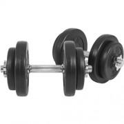 Gorilla-Sports-Ensemble-haltre-court-avec-revtement-en-plastique-1-x-20-kg-0