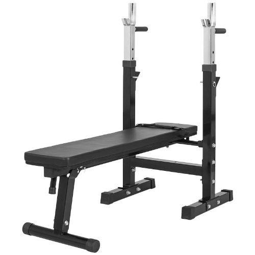 Gorilla-Sports-GS006-Banc-de-musculation-avec-support-de-bar-0