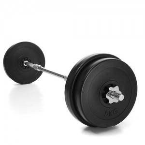 Kinetic-Sport-LDBS30-Haltre-long-Set-30-kg-2-x-5-kg-2-x-75-kg-0
