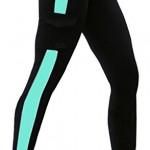 Pantalon-de-course-femme-fitness-bleunoir-legging-sport-collants-Capri-YOGAM-0