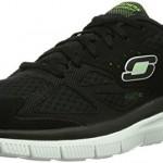 Skechers-Flex-Advantage-Master-Plan-Chaussures-de-Fitness-homme-Noir-NoirBlanc-46-EU-11-UK-0