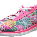 Skechers-Flex-Appeal-Floral-Bloom-Chaussures-de-Fitness-femme-Rose-RoseMulti-41-EU-8-UK-0