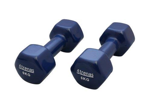 TRENAS-paire-dhaltres-courts-chacun-600-kg-revtement-en-matire-plastique-noir-0