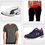 chaussures et vêtements fitness
