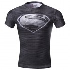 Cody-Lundin-superman-hommes-compression-t-shirt-mouvement-collants-vtements-fitness-Jogging-exercice-shirt-M-Noir-0