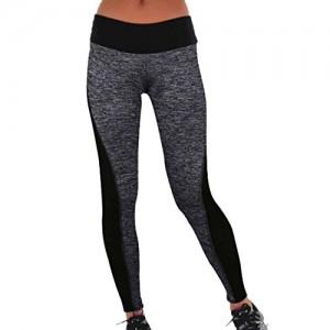 QIYUNZ-Femmes-Noires-Gris-Patchwork-Physique-Leggings-Mince-Yoga-Fonctionnement-Des-Pantalons-De-Yoga-Sportif-0