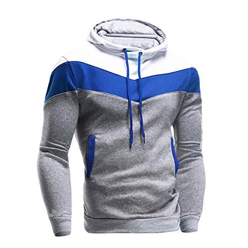 gros remise fournir un grand choix de réduction jusqu'à 60% Eleery Casual Souple Sweat à Capuche Veste Pull Pull-over Shirt Homme  Casual Sport Automne