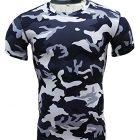 T-Shirt-De-Compression-Manches-Courtes-Vtements-Fitness-Running-Homme-M-0