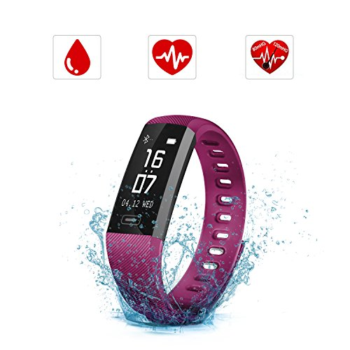 achat bracelet connect savfy montre connect e sport fitness tracker d activit. Black Bedroom Furniture Sets. Home Design Ideas