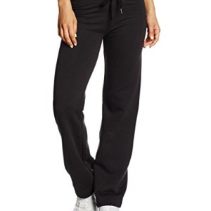 Fruit-of-the-Loom-Ss096m-Pantalon-De-Sport-Droit-Femme-Noir-L-Taille-fabricant-14-0