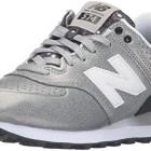 New-Balance-574-Chaussures-de-Running-Entrainement-Femme-Argent-SilverBlack-39-EU-0