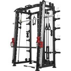 Smith-machine-Machine-Gorilla-Sports-avec-Power-rack-Multi-Station-et-Presse-0