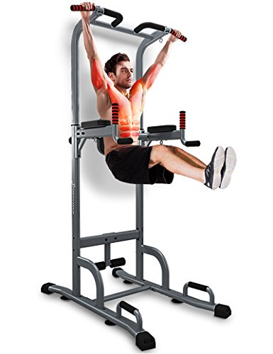 Achat sportstech chaise romaine 7 en 1 pt300 power tower tour de musculation - Chaise romaine musculation ...