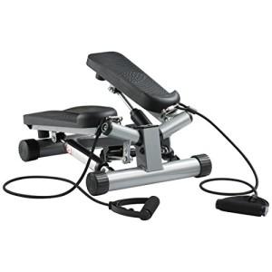 Ultrasport-Swing-Stepper-avec-bandes-lastiques-Stepper--niveau-de-difficult-rglable-et-console-de-commande-sans-fil--Stepper-Up-Down-pour-sportifs-dbutants-et-confirms-dimensions-compactes-0