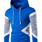 Glestore-Sweat-shirt-Capuche-et-Slim-Fit-Hoodies-Homme-Col-rond-Manches-Longues-Bleu-M-0