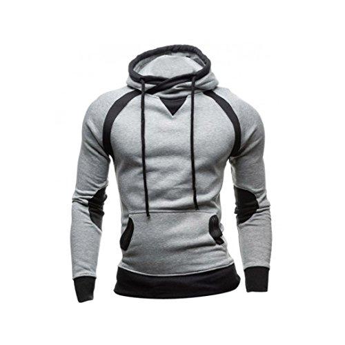 2af59b162f88 Sweatshirt-Homme-Amlaiworld-Hiver-Sweat--capuche-Slim-Pull