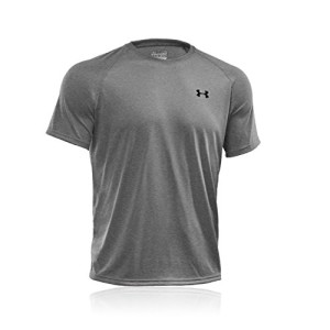 Under-Armour-Tech-T-Shirt-manches-courtes-Homme-True-Gray-Heather-FR-L-Taille-Fabricant-LG-0