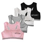 CHIC-CHIC-Kit-de-4-pcs-Soutien-gorge-Sport-Soutien-Sport-Femme-Sans-Armature-Fitness-Yoga-Gym-Brassire-Rembourr-Uni-0