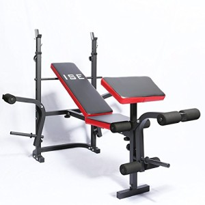 ISE-Banc-de-Musculation-Multifonction-Rglable-Pliable-Inclinable-Fitness-Pour-Entrainement-Complet-SY5430B-0