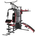 ISE-Station-de-musculation-Appareil-de-musculation-Fitness-Multifonction-avec-poids-SY-4009-0