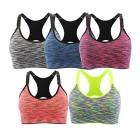 INIBUD-Brassire-Sport-Femme-Lot-de-5-Soutien-Gorge-de-Sport-Space-Dye-Seamless-Sans-Couture-Sans-Armature-L-5pcs-noir-bleu-bordeaux-rouge-gris-0