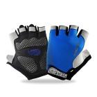 EVILTO-Gants-Sport-Gants-de-Fitness-Respirante-Gants-de-Vlo-Gants-Musculation-Mitaines-dHaltrophilie-Protection-Gant-Antidrapage-Antichoc-Demi-doigts-pour-Homme-Femme-Bleu-0
