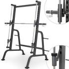 Physionics-Appareil-de-Musculation-pour-Squats-Rack--Squats-avec-Support-pour-Disques-0