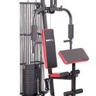 Sportplus-Appareil-de-Musculation-Home-Gym-Complet-Charge-de-45--55-kg-Systme-de-poulie--joints-et-haute--presse-pour-muscler-Jambes-Cuisses-Fessier-Bras-Biceps-Triceps-et-Pectoraux-0