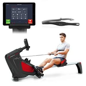 Sportstech-VAINQUEUR-DE-Test-Rameur-RSX500-ergomtre-air-Freins-magntiques-Ceinture-Cardio-optionnelle-Poids-dinertie-7-kg-Applications-Fitness-16-Programmes-dentranement-Pliable-0