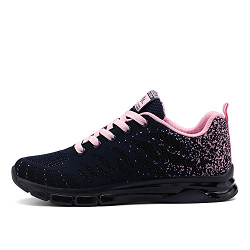 Femme Outdoor Basket Fitness Noir 35 Chaussure Running Fexkean pink39 De Sport Sneakers Gym 40 Fille Basses Mode Rose Multisports Course 8nwPX0Ok