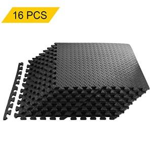 Homgrace-Tapis-de-Protection-de-Sol-en-Mousse-EVA-Tapis-Mousse-de-Sol-Tapis-de-Gym-Matelas-Puzzle-Ensemble-Individuelles-connectables-600cm-x-600cm-16pcs-Noir-0