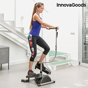 InnovaGoods-IG116363-Machine-de-Step-Mixte-Adulte-GrisNoir-Taille-Unique-0
