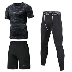 Niksa-Homme-3-Pices-Vtements-de-Sport-Running-Jogging-Workout-Football-Ensemble-de-Fitness-Compression-Tenue-de-Sport-SportswearManches-Courtes163512L-0
