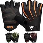 RDX-Gants-de-Musculation-Poignet-workout-Crossfit-Entrainement-Fitness-Gymnastique-Cuir-Vachette-Powerlifter-Permable--lair-Halterophilie-Gym-Gloves-0