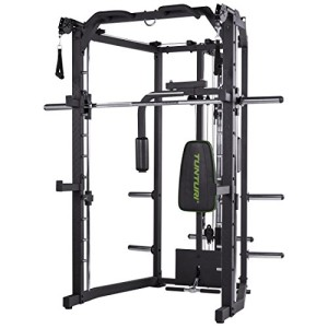 Tunturi-SM80-Smith-Machine-Mixte-Adulte-Noir-1-0