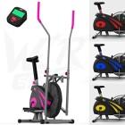 We-R-Sports-2-en-1-Elliptique-Traverser-Entraneur-Exercice-Vlo-Maison-Aptitude-Cardio-Faire-du-Sport-Machine-Rose-0