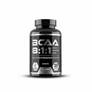 Xcore-Complexe-de-BCAA-811-de-qualit-180-comprims-2400-mg-de-leucine-300-mg-de-valine-et-300-mg-disoleucine-Rapport-dacides-amins-lev-pour-la-prise-de-masse-et-une-rcupration-rapide-0