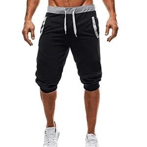 Pantalons-pour-Hommes-Sport-Sweatpants-Shorts-Sarouels-lasticit-Eleve-Jogging-Pantalon-Dentranement-Pantalon-Sport-Dcontract-Confortable-Respirant-ELECTRI-L-Sexy-Noir-0