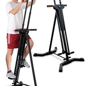 Sportstech-Stepper-Machine-dEscalade-Verticale-2-en-1-VC300-Grimpeur-Vertical-Fitness-Simulation-dEscalade-antidrapant-et-Structure-Pliable-idal-pour-Les-entranements-corporels-intensifs-0