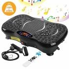 AGM-Plateforme-Vibrante-Oscillante-Plate-Forme-de-Vibration-3D-Accessoire-de-Fitness-Appareil-de-Massage-Perte-de-Poids-Rapide-150KG-capacit-Tlcommande-2-Bandes-de-Rsistance-et-Bluetooth-0