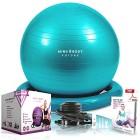 Ballon-de-Gym-ou-Swiss-Ball-de-Mind-Body-Future-Idal-pour-Pilates-Yoga-Grossesse-Fitness-Robuste-Antidrapant-Hypoallergnique-65-cm-Livr-avec-Base-et-Pompe-Turquoise-0