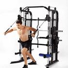 Mim-SM-ft-1001-Fonctionnelle-Trainer-Smith-Machine--complte-Multi-Fonctionnelle-Combo--Tout-en-Un--Un-Choix-Parfait-Votre-Maison-Votre-Salle-de-Sport-0