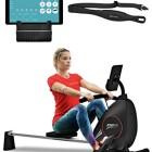 Sportstech-Rameur-ergomtre-RSX400-Compatible-avec-Application-Smartphone-Ceinture-Cardio-Pliable-et-Pratique-8-Niveaux-de-rsistance-sige-avec-roulements--Billes-Rail-en-Aluminium-0