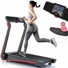 Sportstech-Tapis-de-Course-F17-Console-futuriste-25PS-12-KMH-systme-de-Lubrification-Ceinture-Cardio-Valeur-3990--Incluse-app-Smartphone-MP3-Pliable-entranement-Endurance--Domicile-0