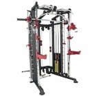 We-R-Sports-Monster-Power-Cage-Multi-Power-Rack-Smith-Machine-Home-Gym-Crossfit-Combo-LATLow-Row-0