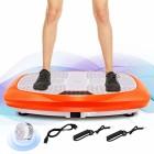 ANCHEER-Fitness-Plateforme-Vibrante-et-Oscillante-JF-B01C-5-Programmes-Automatiques-et-3-Zones-de-Vibration-avec-Tlcommande-et-2-Bandes-Elastiques-dEntranements-Orange-0