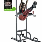 Sportstech-Chaise-Romaine-7-en-1-PT300-Power-Tower-Tour-de-Musculation-Multifonctions-Barre-de-Traction-Station-de-tractions-dips-abdominaux-accoudoirs-poignes-pour-Pompe-Fitness-TRX-0