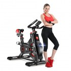 Dripex-Vlo-dAppartement-Vlo-Spinning-Ergonomique-Appareil-Fitness-Sport-Abdominal-Dos-Bras-Anti-Rsistance-Grande-Vitesse-Capteur-Frquence-Cardiaque-Frein-Scurit150kg-Max-0