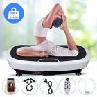 EVOLAND-Plateforme-Vibrante-Oscillante--2-Moteurs-3D180-Niveaux5-Programmes-Ecran-Tactile-avec-Tlcommande-Haut-parleurs-Bluetooth-Appareil-de-Massage-Perte-de-Poids-150KG-Capacit-0