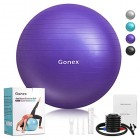 Gonex-55cm-65cm-75cm-Ballon-Fitness-Pompe-Incluse-Ballon-Grossesse-Antidrapant-Ballon-Gym-Exercice-Swiss-Ball-pour-Yoga-PilatesCapacit-de-900kg-avec-Guide-0